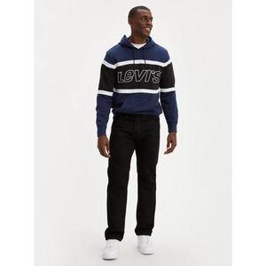 Levi's 505 Regular Fit Straight leg Black Wash Denim Jeans